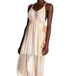GYPSY 05 Asal Peach Dress-Size MEDIUM